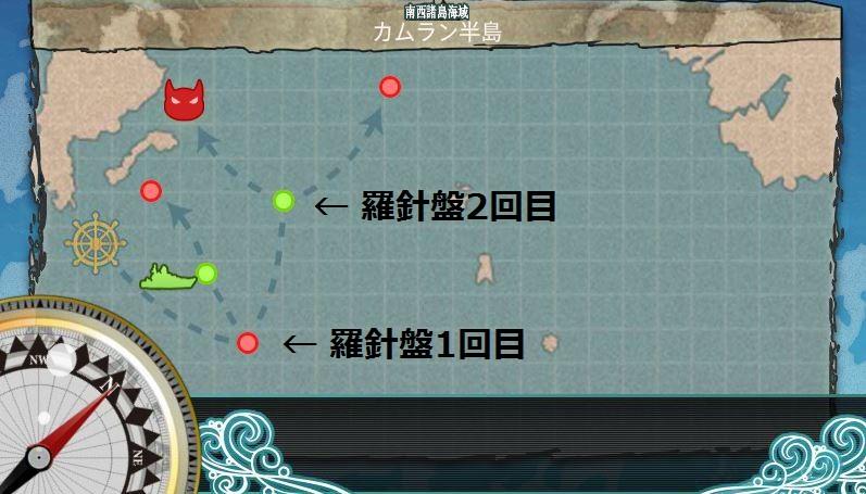 カムラン半島攻略マップ
